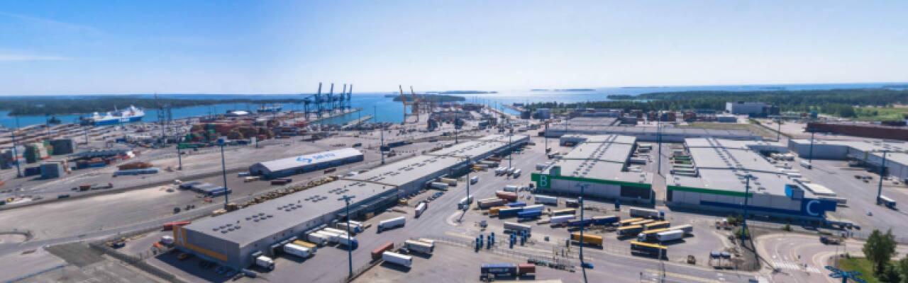 Vuosaaren satama - Logistiikkakeskus