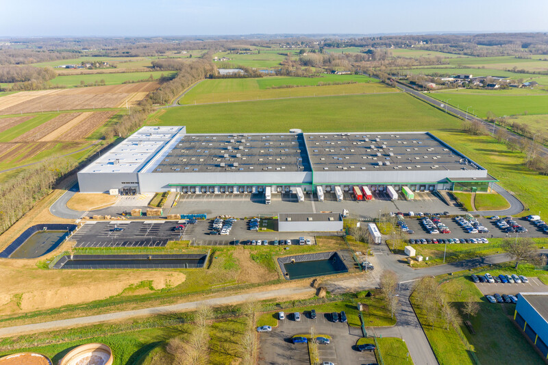 Logicor réalise une extension de 4 700 m² pour Alloga France