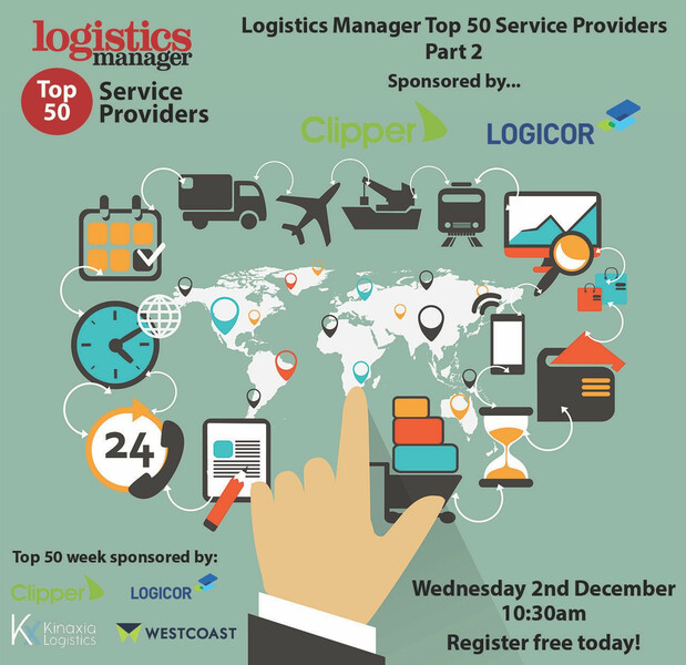 Logistics Manager top 50 service providers week