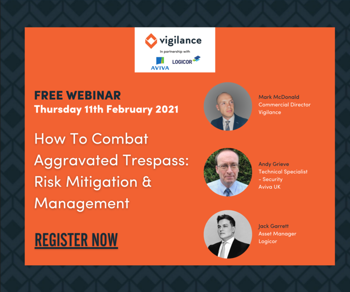 UK Asset Manager, Jack Garrett joins the Vigilance panel to talk all things trespass risk mitigation