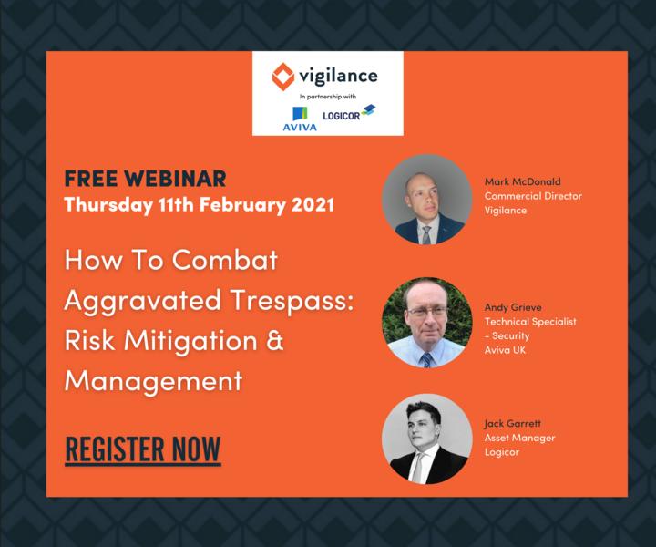 UK Asset Manager, Jack Garrett joins the Vigilance panel to talk all things trespass risk mitigation