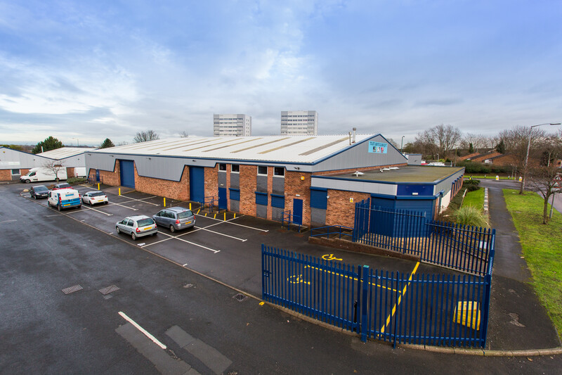 Logicor lets Chelmsley Wood Industrial unit to Wed Logistics