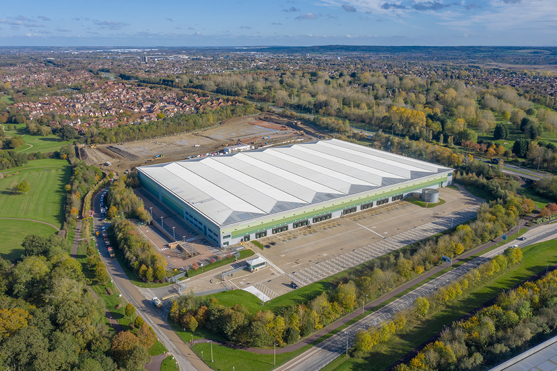 Logicor lets 360,000 sq ft warehouse to Marks and Spencer plc
