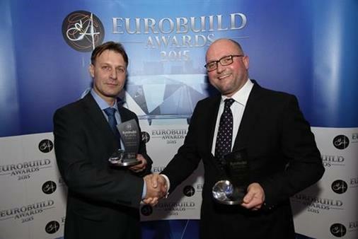 Logicor wins twice at Eurobuild Awards 2015