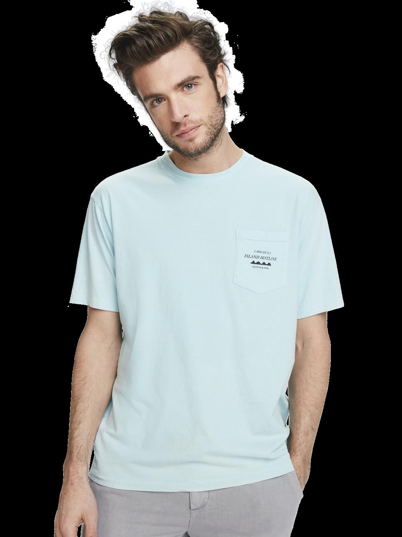 Men Washed artwork t-shirt