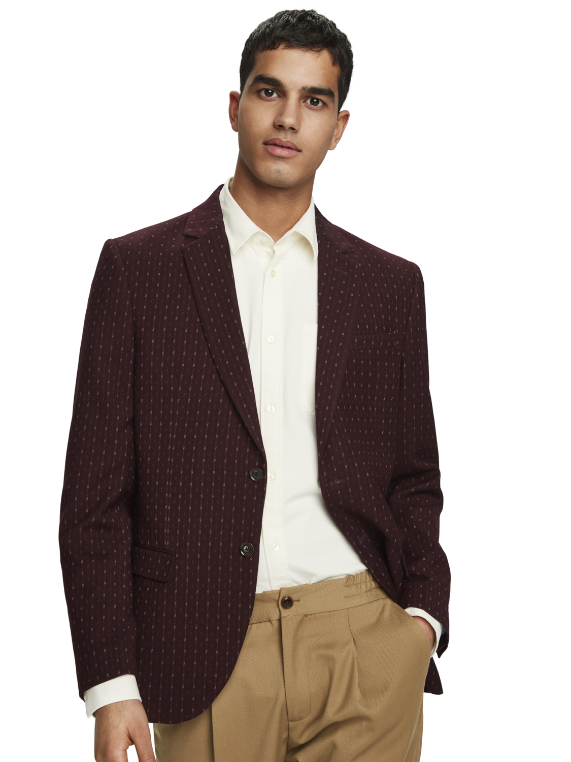 Men Patterned blazer