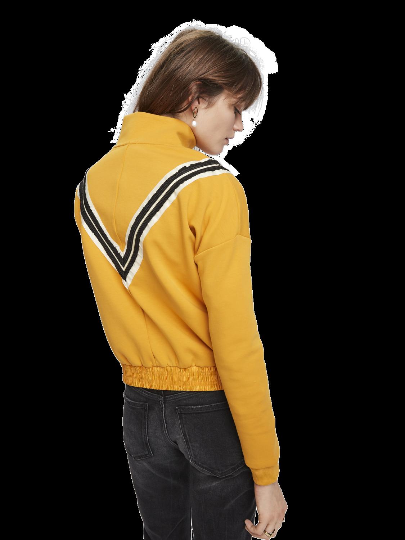 Women Tape Detail Track Jacket