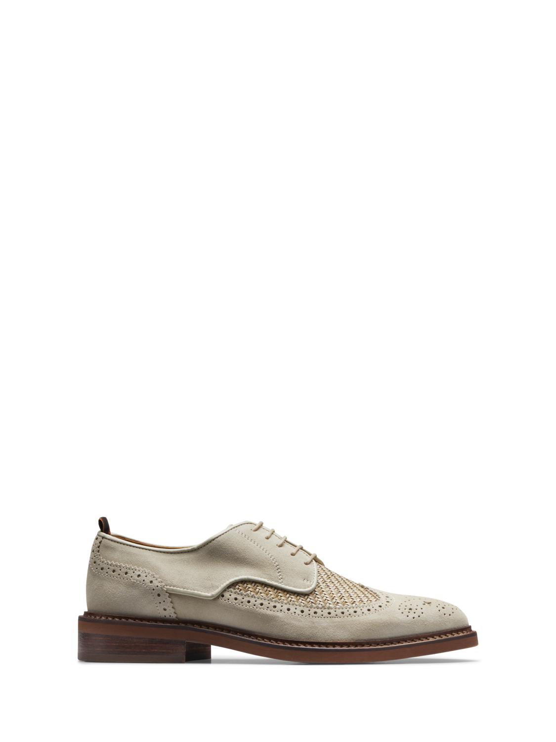 Men Merapi - Suede Brogues