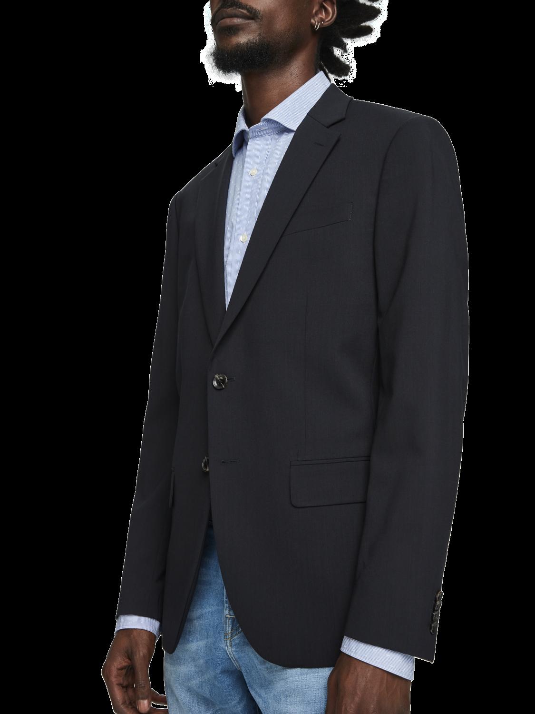 Men Classic Wool Blend Blazer