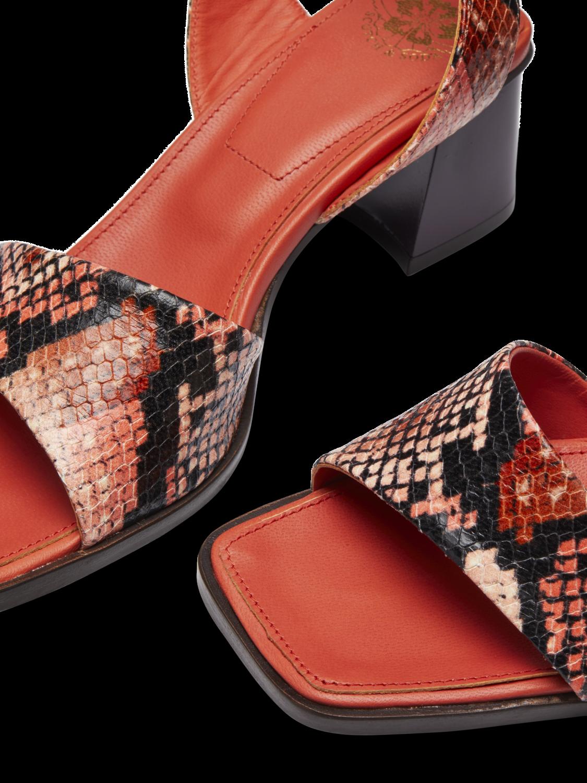 Women Enide - Faux Snakeskin Sandals