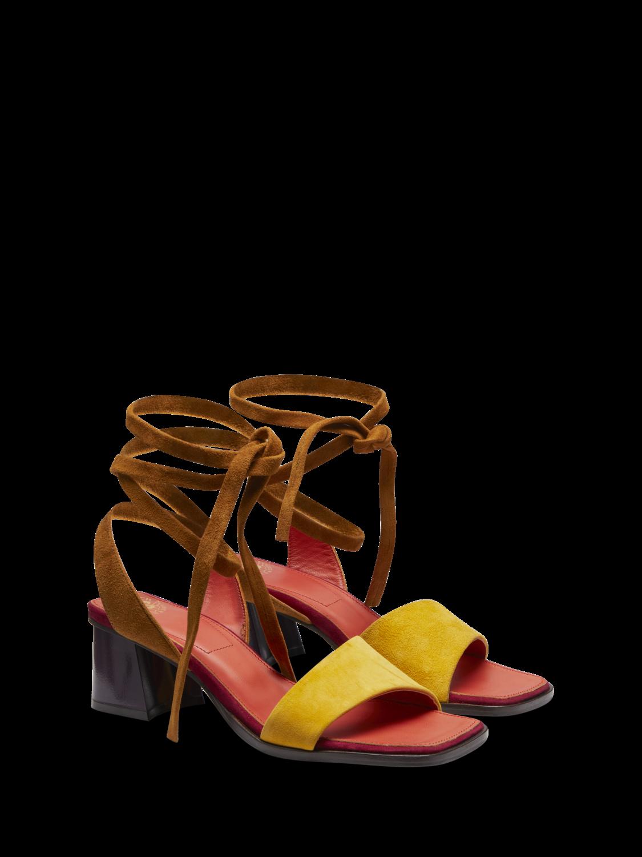 Women Enide - Suede Strappy Sandals