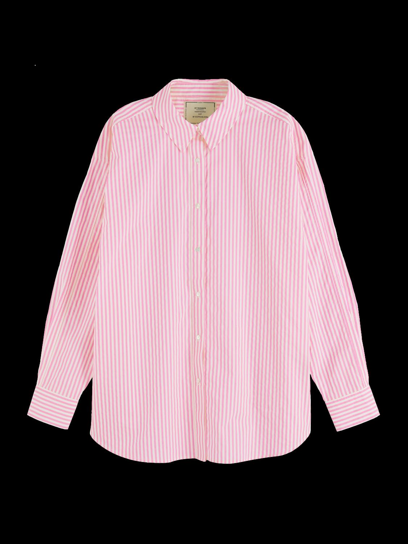 Women Oversized cotton poplin shirt