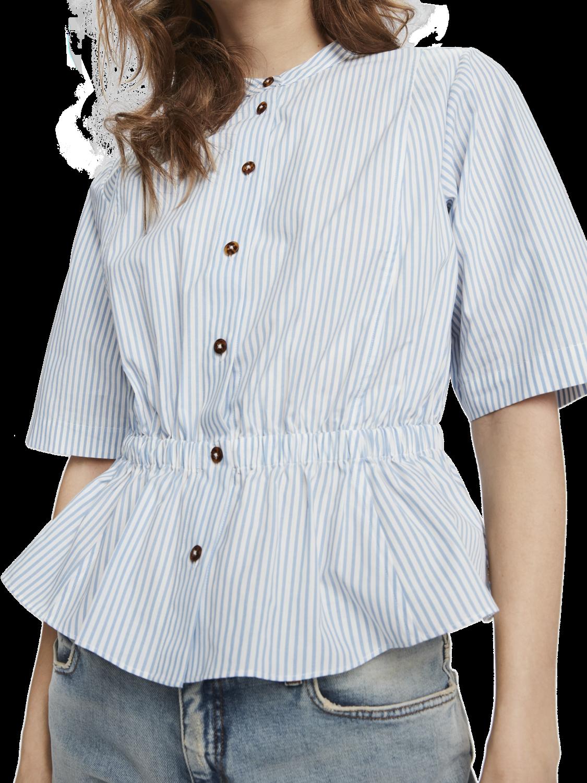 Damer Skjorta med rynkad midja