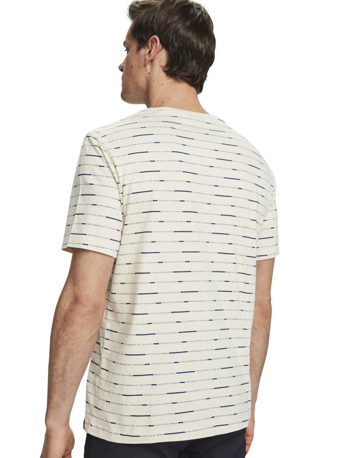 Herrar All-over-print sustainable cotton short sleeve t-shirt
