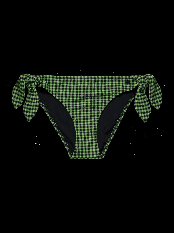 Women Checked bikini bottoms
