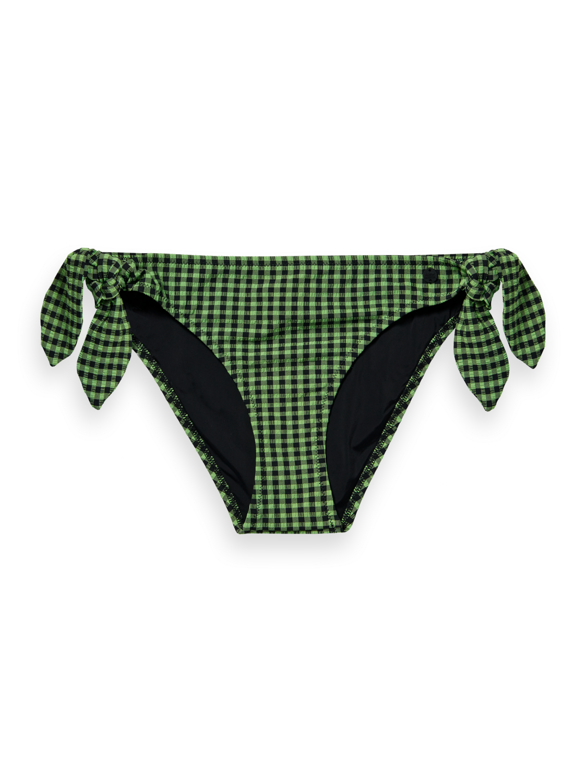 Damer Checked bikini bottoms