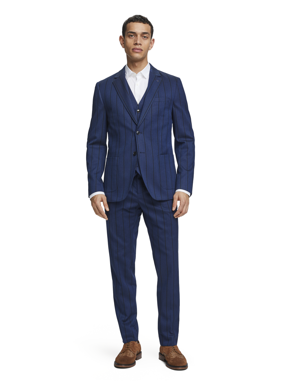 Men Yarn dyed waistcoat