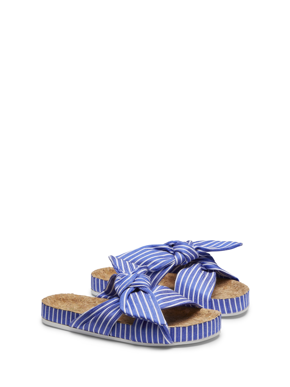 Women Yolin - Striped Slides