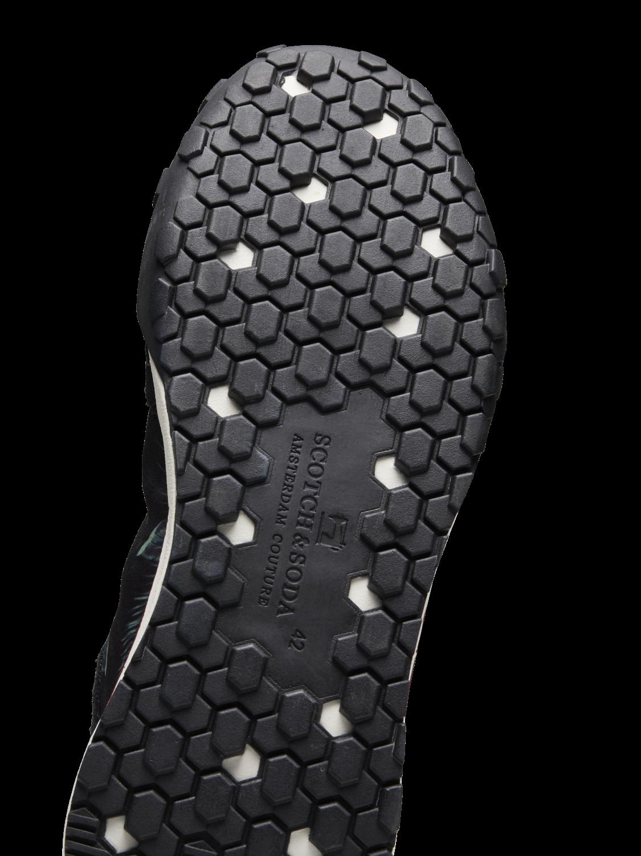Men Kagann - Tropical Print Sneakers
