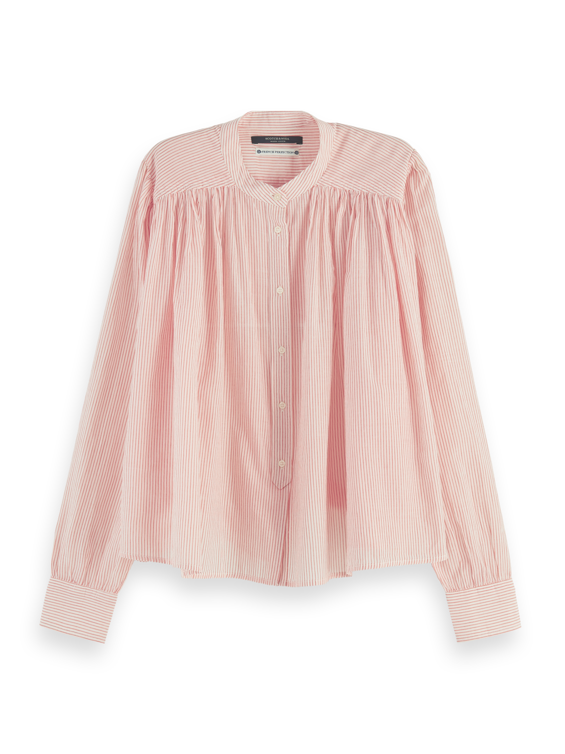 Damer Sustainable loose-fit cotton shirt