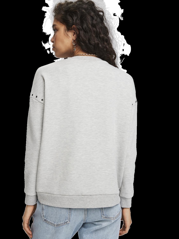 Women Stud Detail Sweater