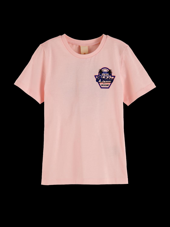 Flickor T-shirt i bomull