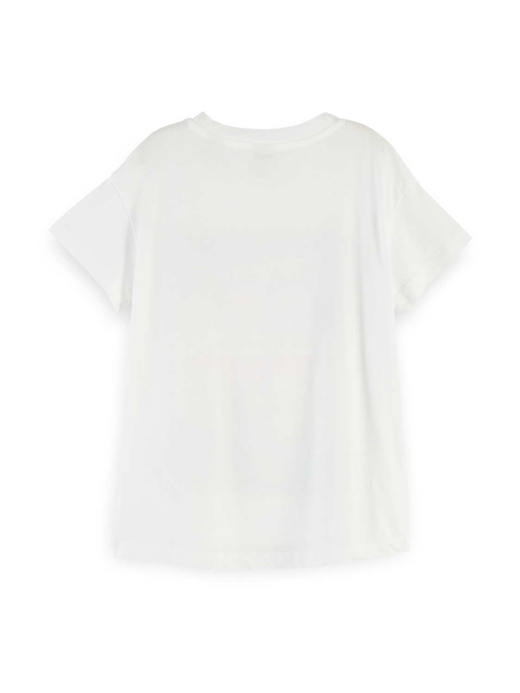 Girls Hawaiian artwork t-shirt