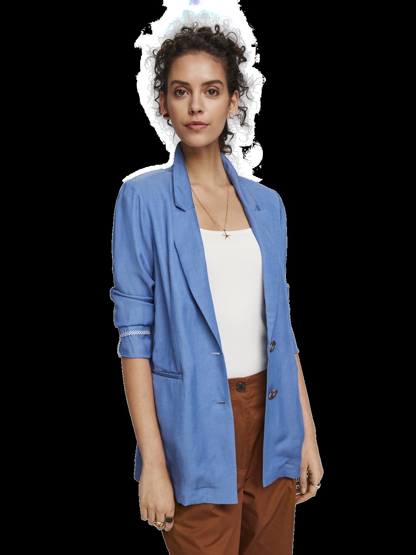 Women Linen blend blazer