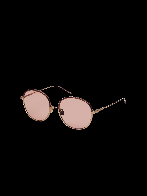 Damer Soho - Solglasögon med rundad metallbåge