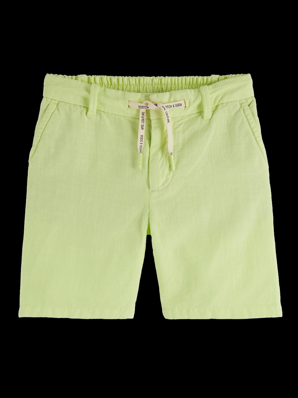 Boys Cotton linen blend shorts