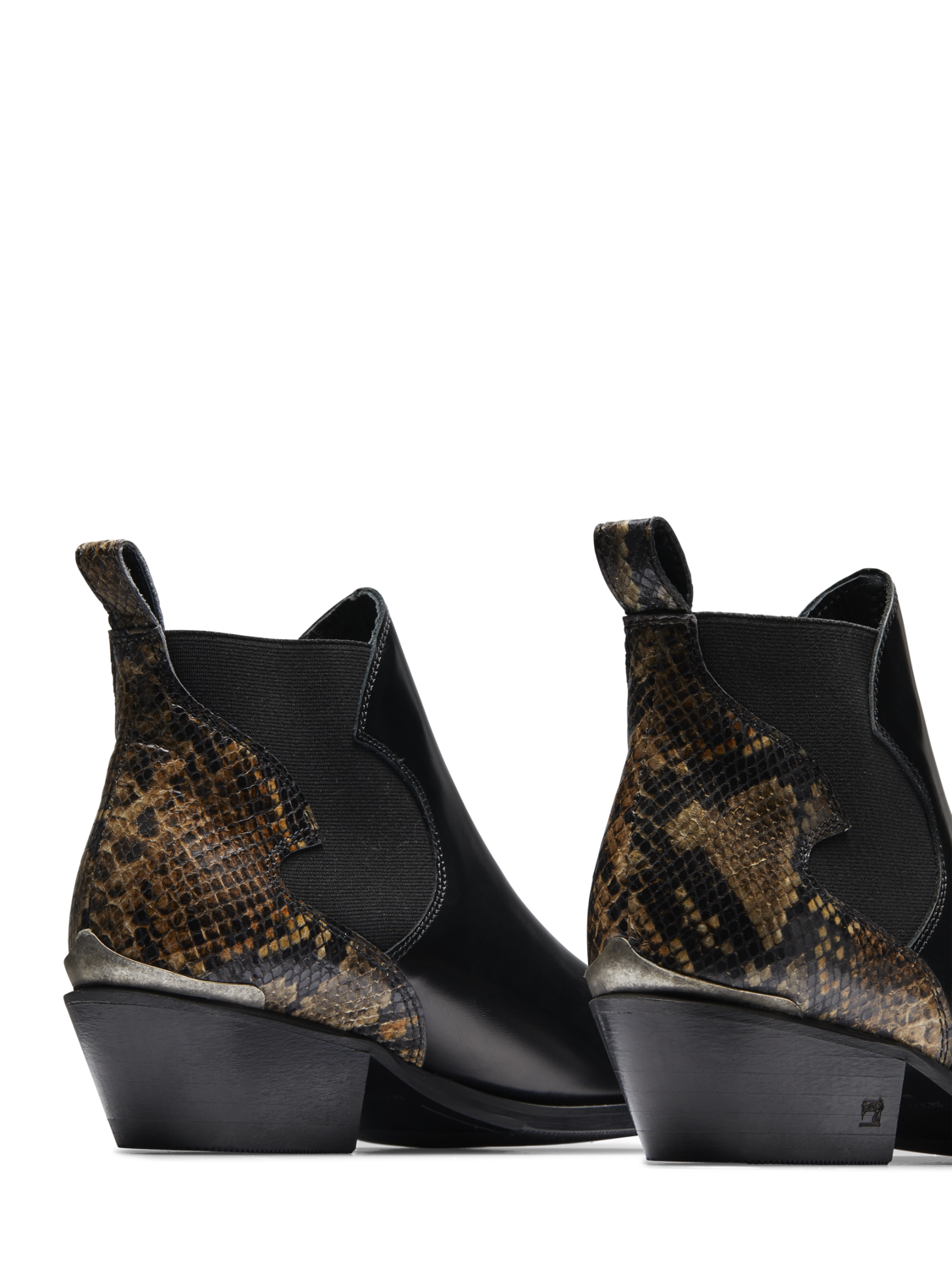 Women Corall - Leather Ankle Boots