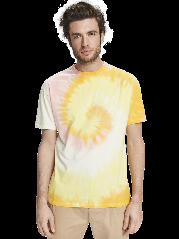 Herrar Batikmönstrad t-shirt