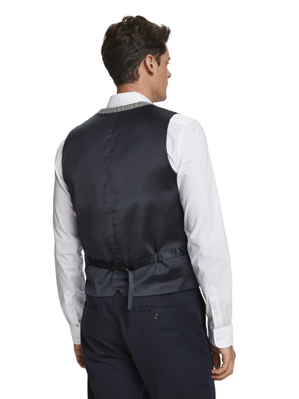 Men Patterned Waistcoat