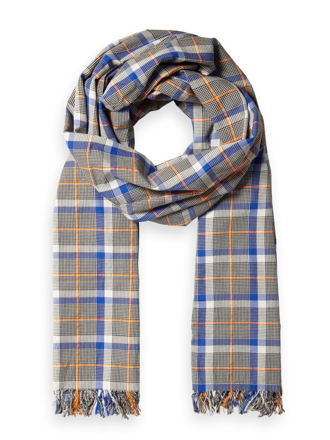 Men Checked scarf