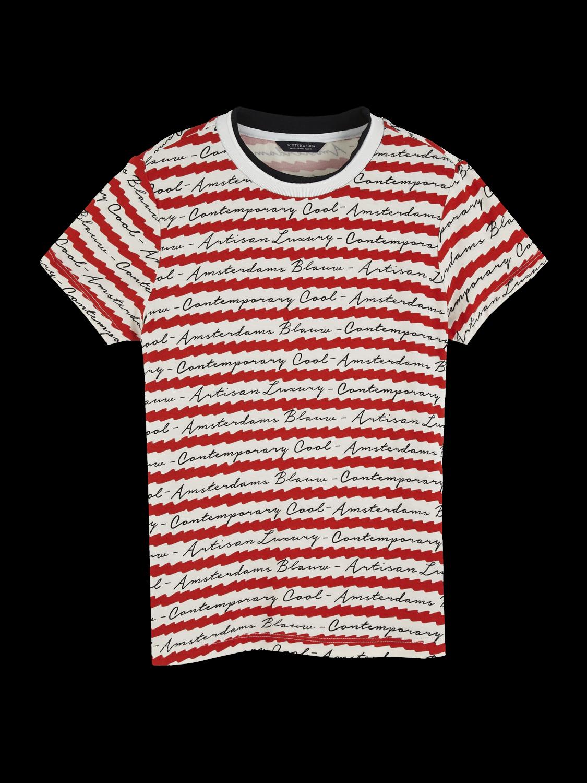 Girls Printed Short Sleeved T-Shirt