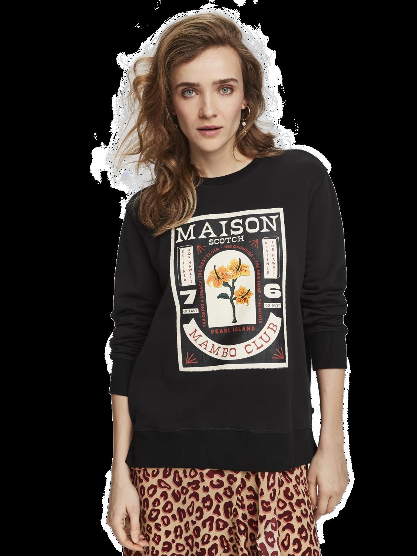 Women Crew neck artwork sweater
