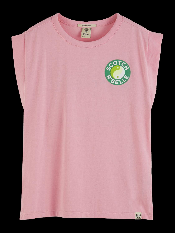 Girls Boxy Artwork T-Shirt