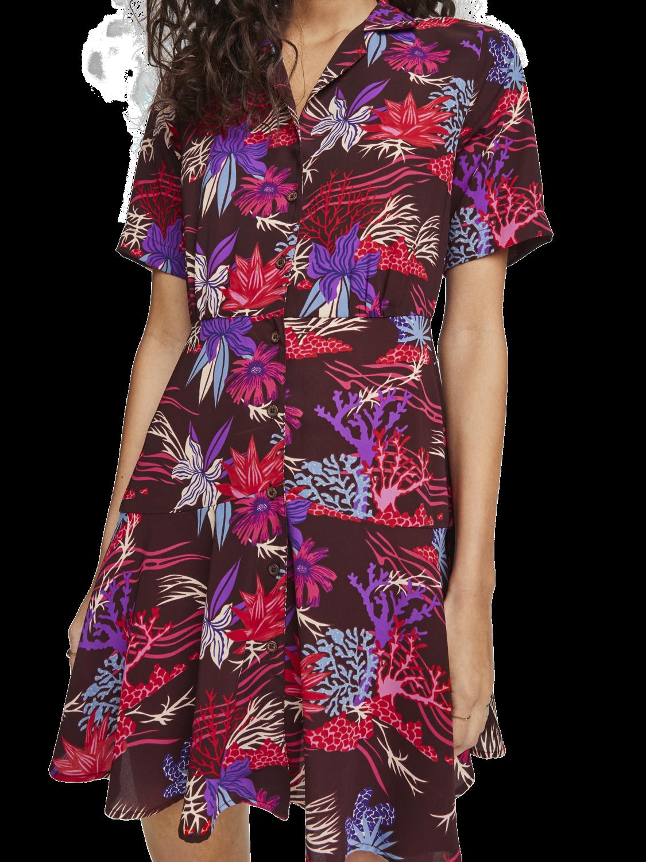 Damer Skjortklänning i hawaiistil
