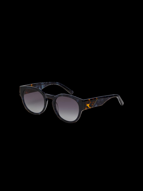 Women Biscayne - Round-Frame Acetate Sunglasses