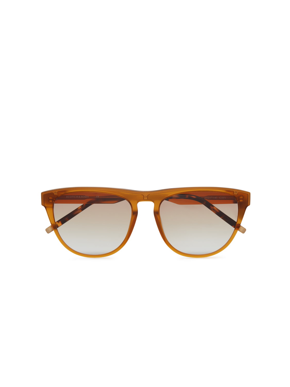 Women Front - Acetate D-Frame Sunglasses