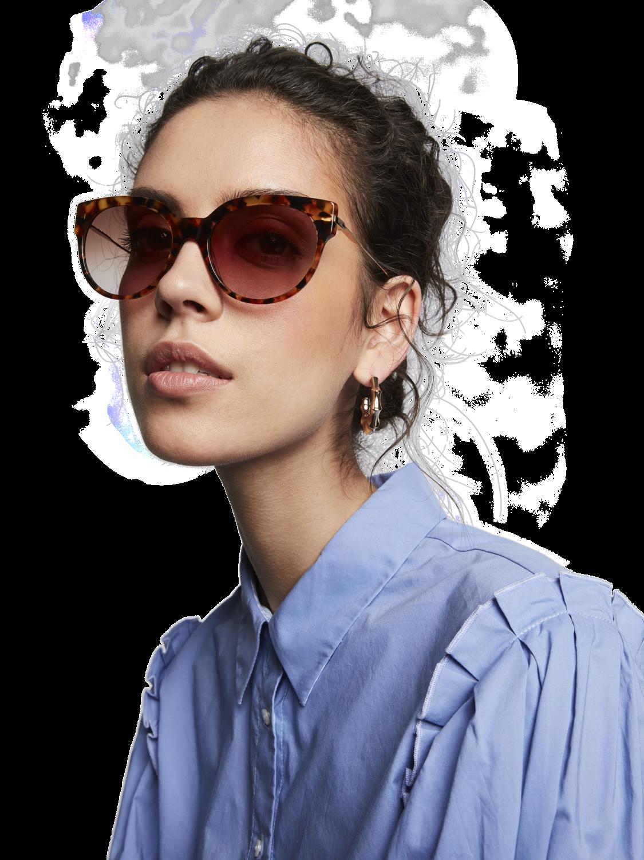 Women Broadway - Tortoiseshell Acetate Sunglasses