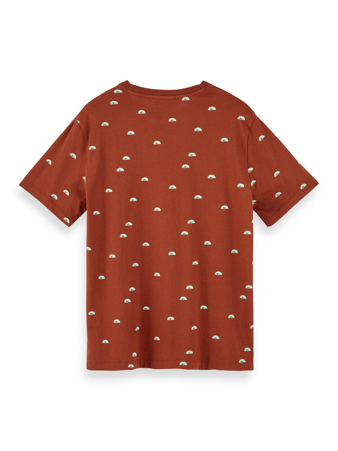 Men Sustainable cotton t-shirt with all over print