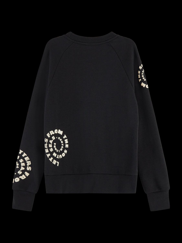 Women Textured long sleeve artwork sweater