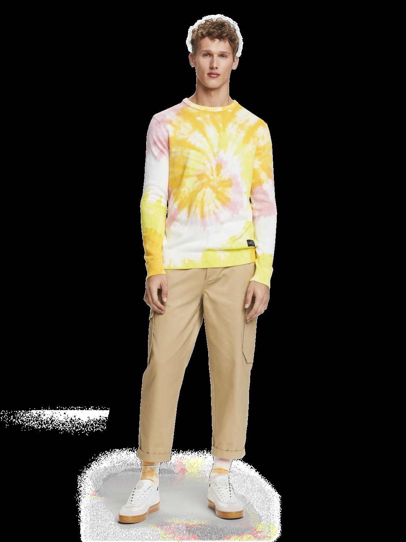 Herrar Batikmönstrad tröja