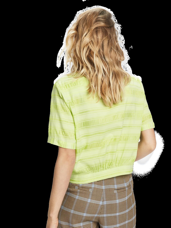 Damer Hawaiiskjorta i bomull och siden