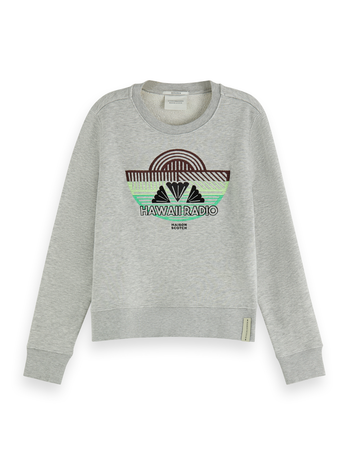 Women Embroidered artwork sweater
