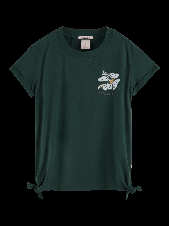 Girls Side Tie T-Shirt