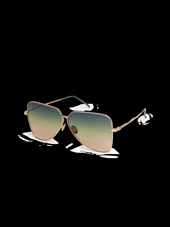 Damer Vegas - Oversized solglasögon med D-ram