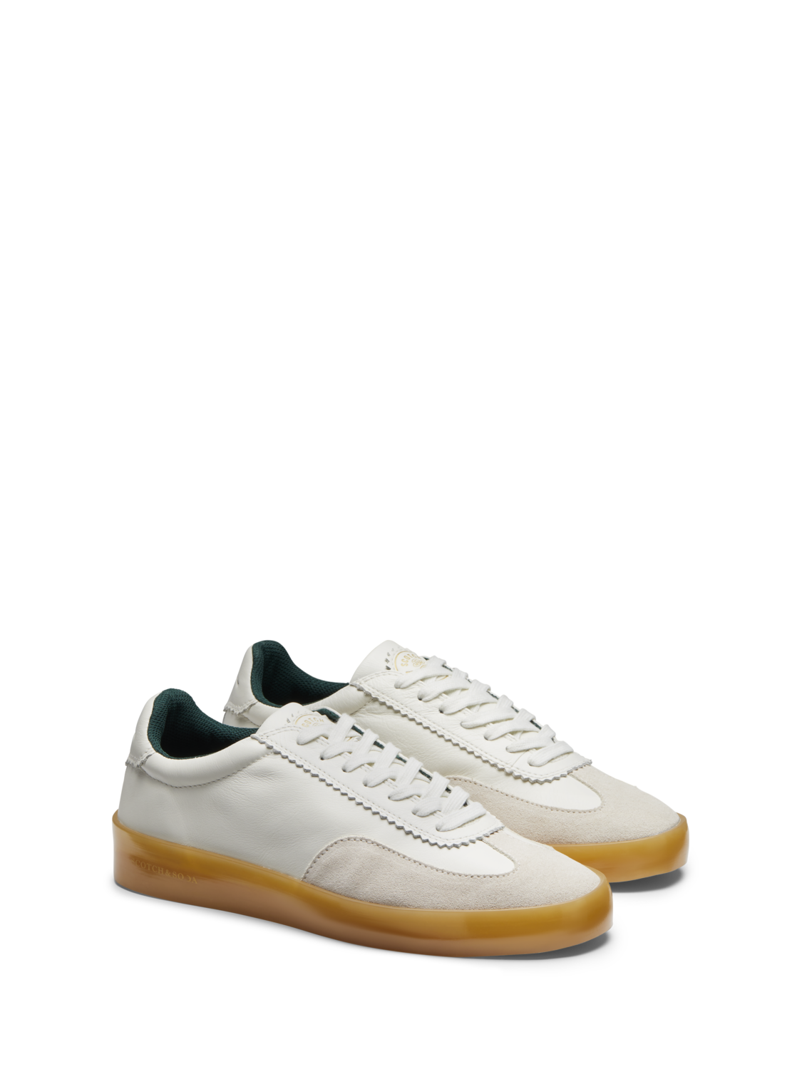 Men Plakka - Suede & Leather Sneakers
