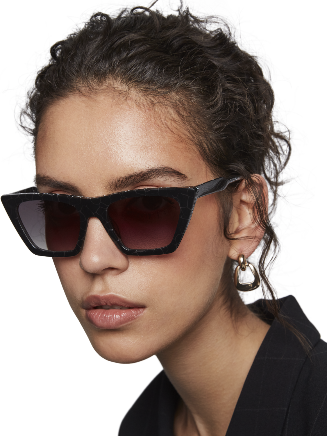 Women Fulton - Acetate D-Frame Sunglasses